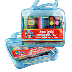 Art set for kids drawing and coloring