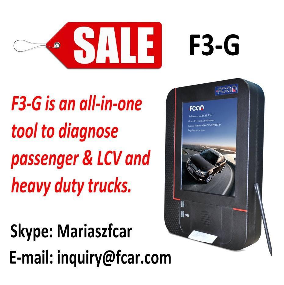 Universal auto ferramentas de diagnóstico FCAR F3-G para a ásia europeia americano caminhões e car diagnóstico scanner