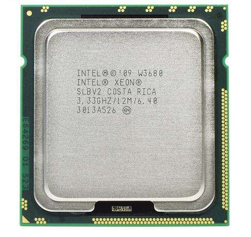 Intel Xeon Processor X5687 SLBVY 4-Core 3.60GHz 12MB