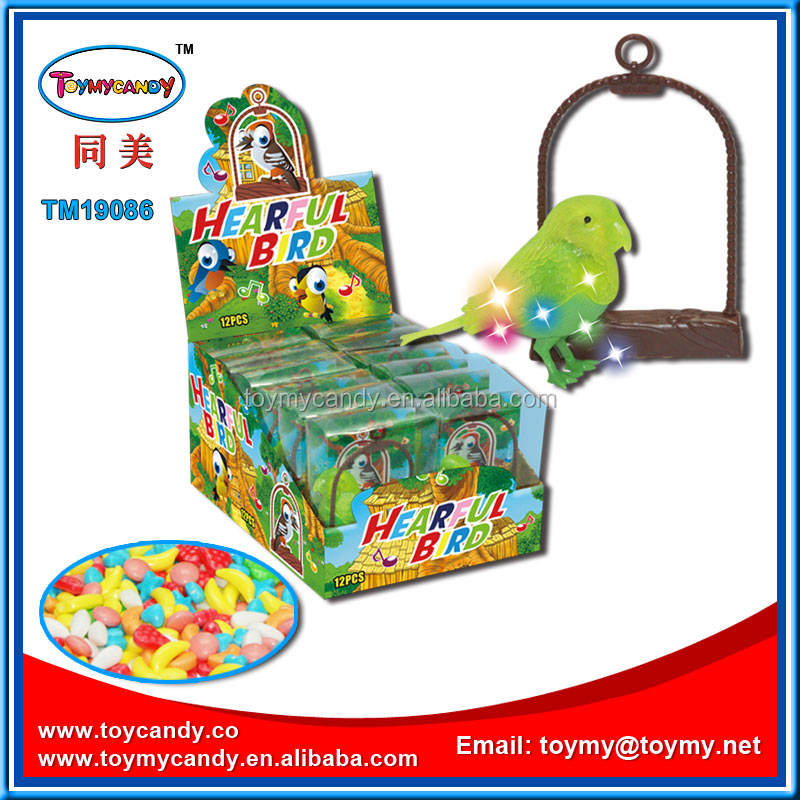 Hot china products wholesale in best popular plastic toy birds hearful bird of china supplier toys and candies