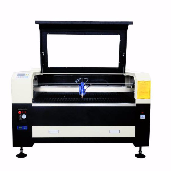 150W 1390 metal and non metal CO2 laser cutting machine with RECI W8, auto focus,