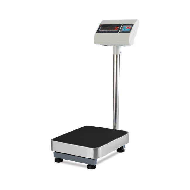 Digital Balanzas Electronica Weighing Platform Scale With Stainless Iron Pan