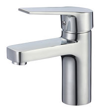 B0080-F Bathroom basin mixer chrome finished bathroom basin water faucet