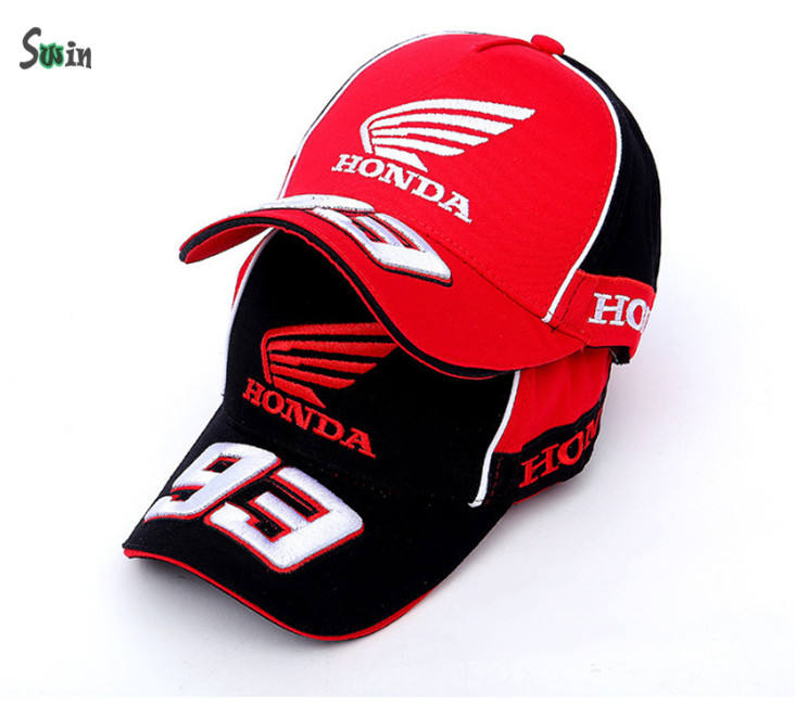 5 panel 3d bordado ala motores equipo de carreras gorra de china