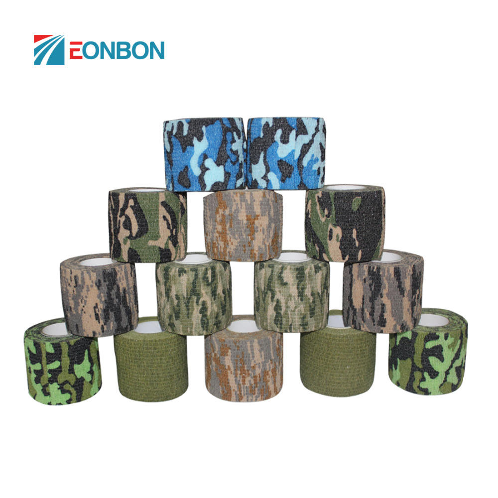 Camo Camouflage Fabric Tape For Hunting Air Rilfes Airsoft Army Insulated Tape
