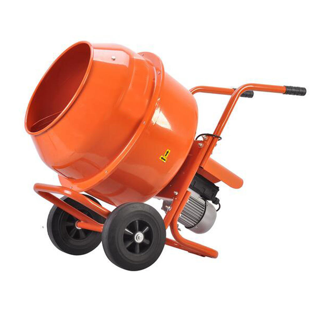 Factory price small electric cement mixer 46L mini manual concrete mixer