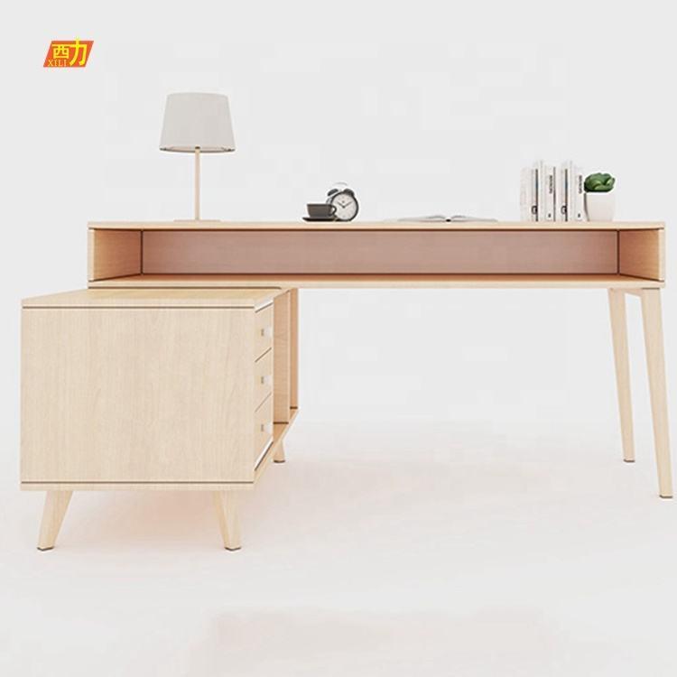 Multi-utilisateur poste de travail informatique pour 1 personne fantaisie conception unique bureau bureau d'étude