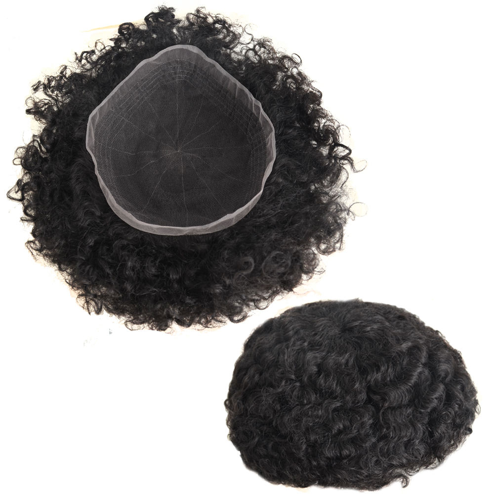 Best Selling 10mm curl toupee