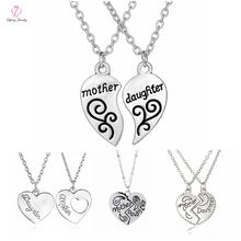 Wholesale Europe Jewelry Fashionable Mother And Dauther Necklace