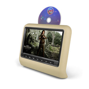 HD Schermo LCD Portatile Auto Poggiatesta DVD Monitor Car DVD Player con 800*480 Risoluzione Car Styling