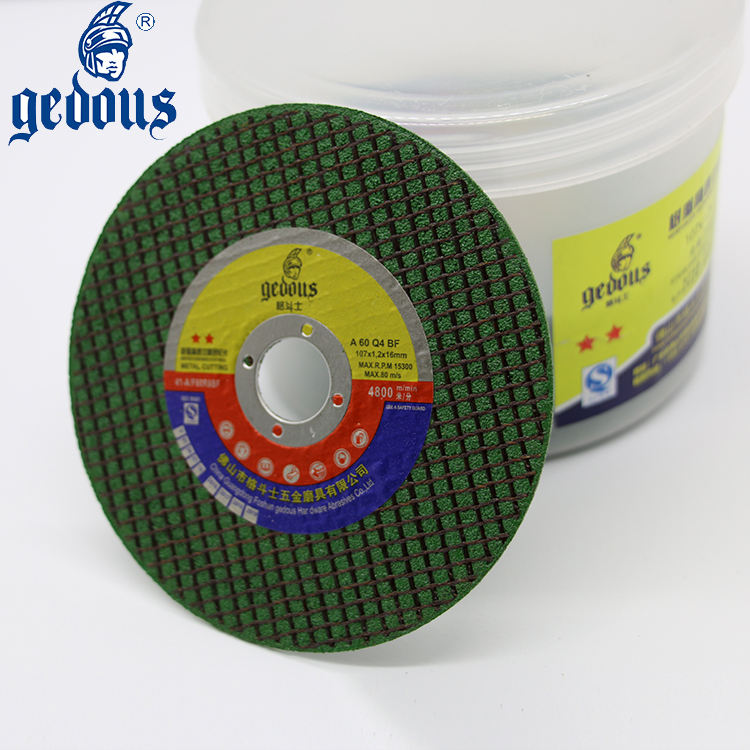 100X1.0X22.2mm 4 inch the best price cutting disc for high level abrasive industry