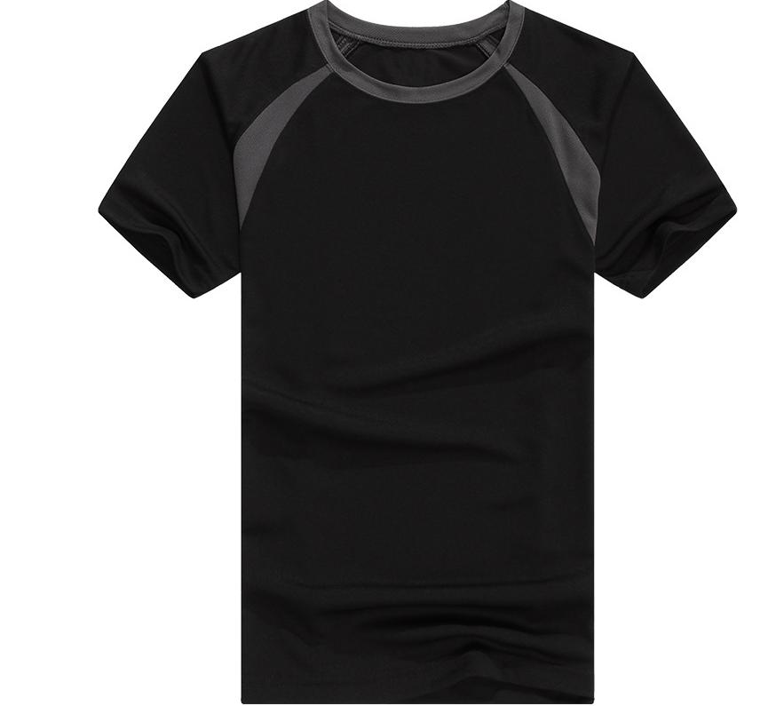 New Summer Sports Quick Dry Round Collar Color T Shirt Custom Short Sleeve Singlet T Shirt