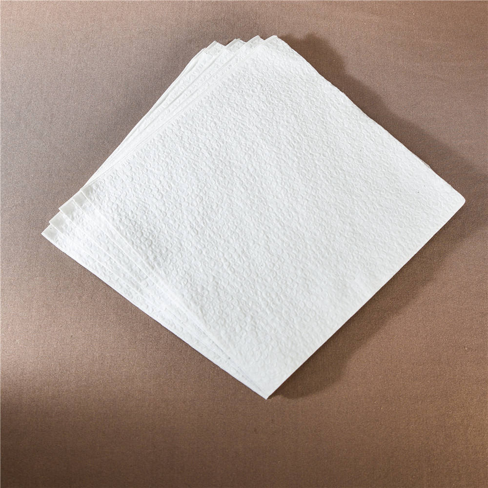 Lunch Napkin Tissue Paper 30x30/32x32/33x33cm 1/4 Or 1/8 Fold