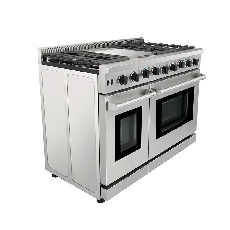 Stainless steel 5 pembakar kitchen raja gas kompor