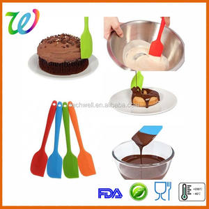 Colorful Silicone Baking Equipment Silicone Pastry Spatula