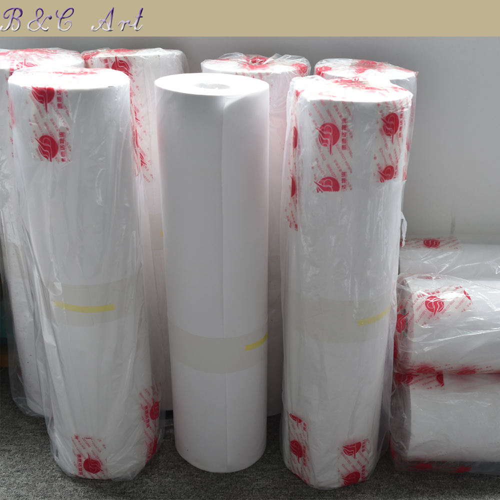 Wholesale High Quality Custom Size Printing Polyester Cotton Inkjet Blank Art Canvas Roll