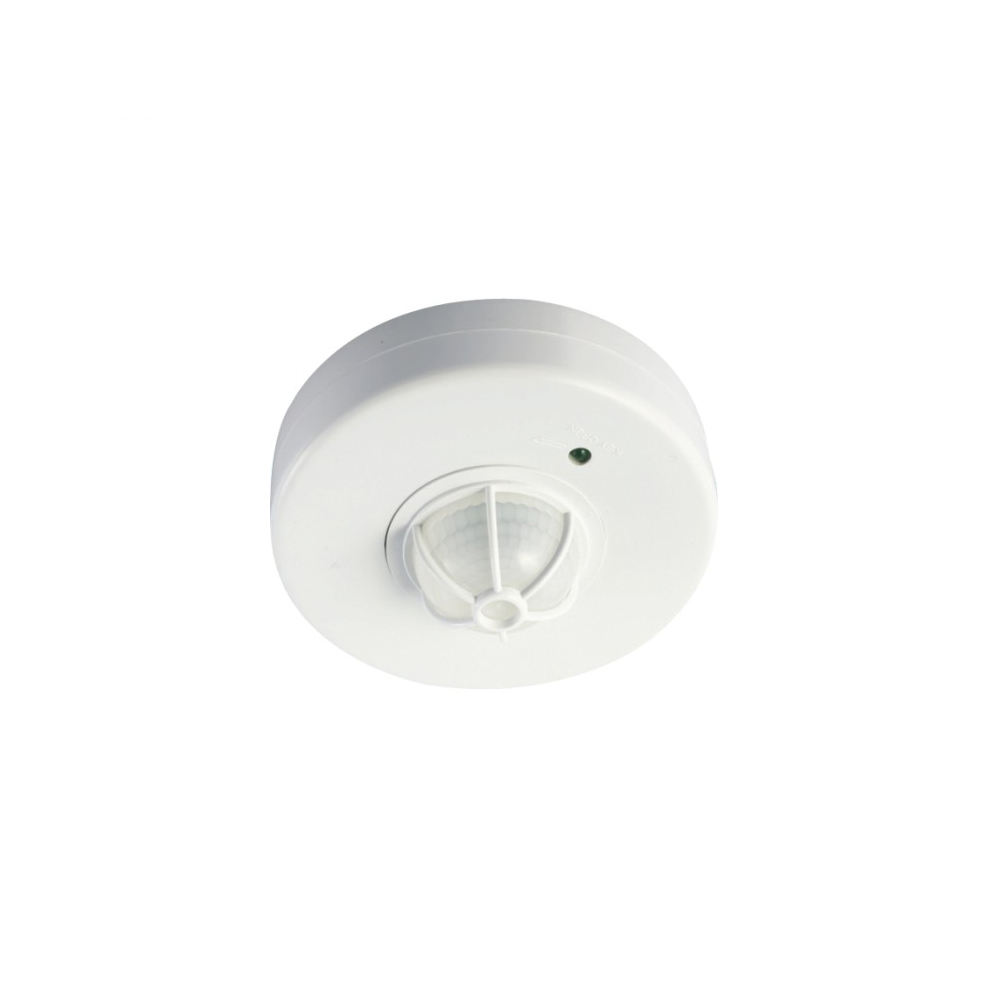 Ceiling mounted motion sensor light heat sensor circuit