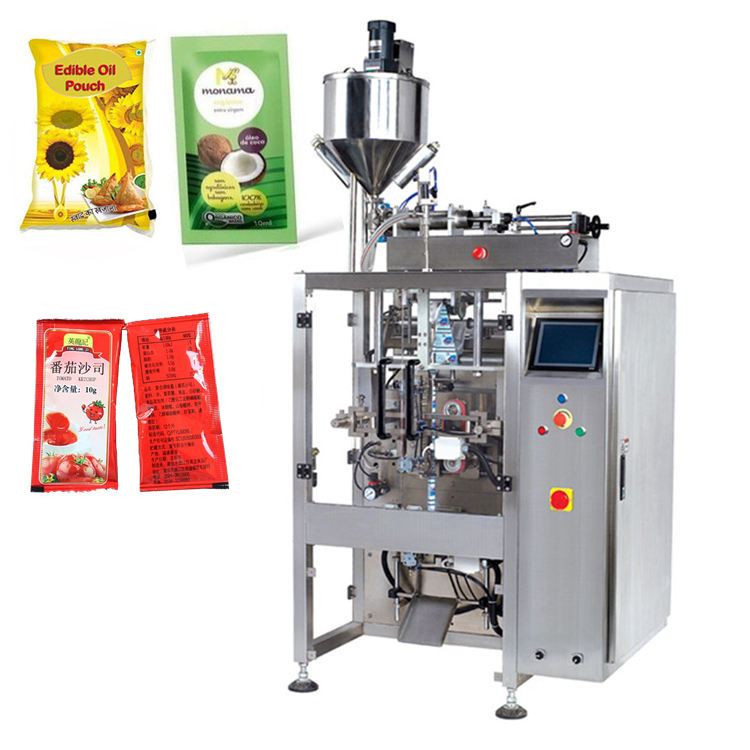 Palm Coconut Oil Sachet Packing Machine