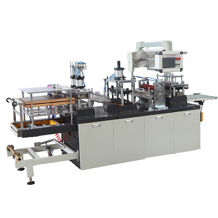 New Manufacturer Fully Automatic Cheap Paper Cup Plastic Lid Thermoforming Machine