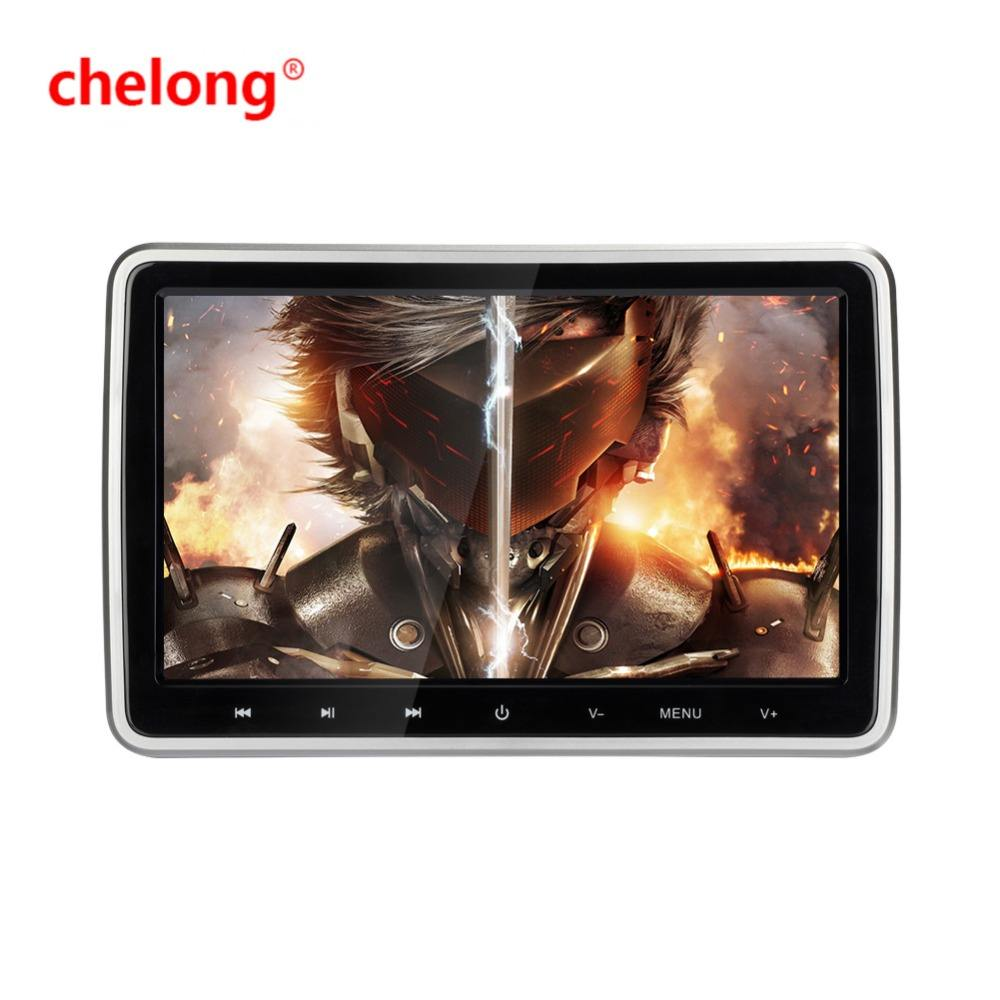 Handing car dvd 10.1 inch touch screen car headrest dvd player with wireless game hand free bluetooth
