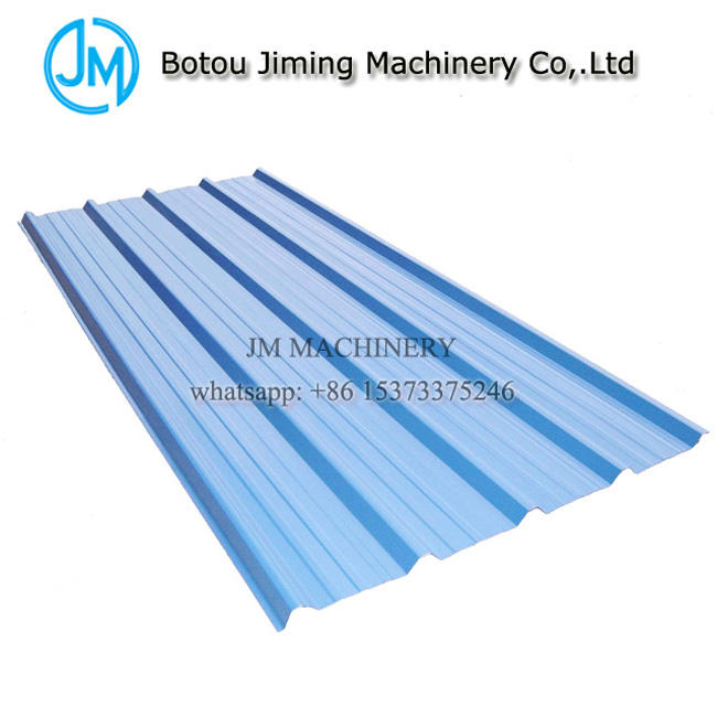 Arc Cut Glazed and Corrugated Double Layer Botou Roll Forming