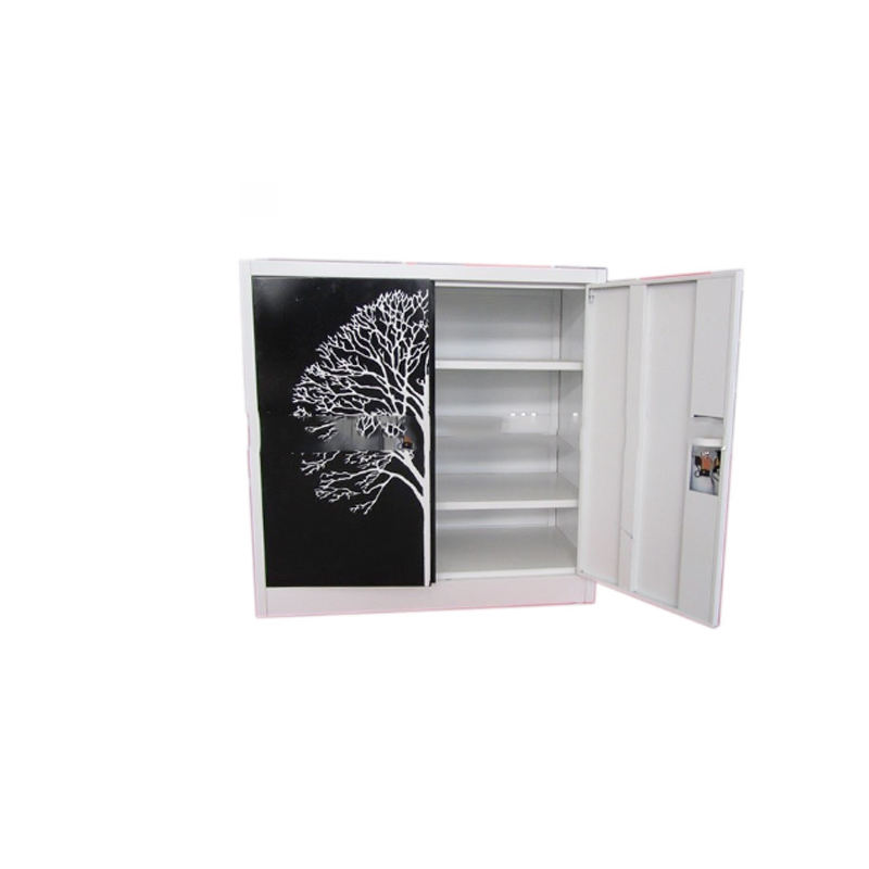 8 box steel shoe cupboard with swing door