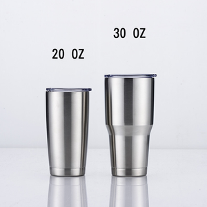 Wholesale Amazon Hot Selling 30 oz Double Wall Stainless Steel Water Tumbler Travel Mug