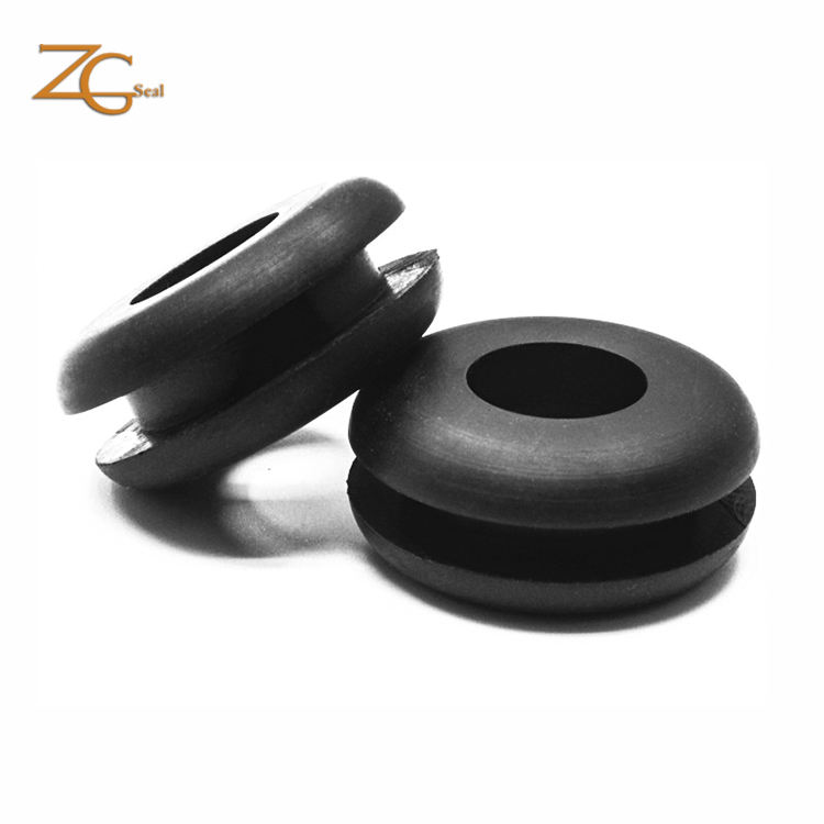 Customized NBR Abrasion Resistance high temperature resistant cable sealing grommet rubber grommet