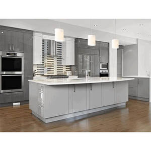 modern style laminate kitchen cabinet with sterilization capboard