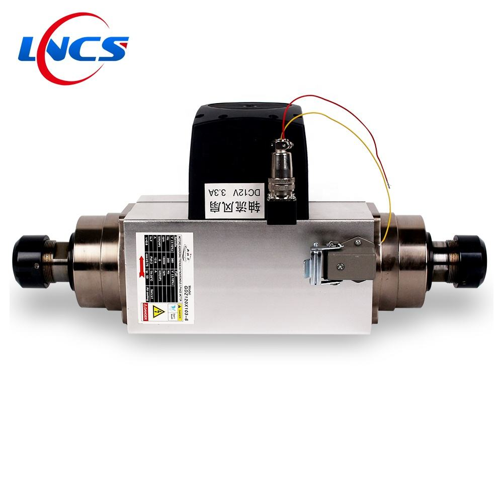6KW Double Head Spindle Motor Air coold GDZ120*103-6D