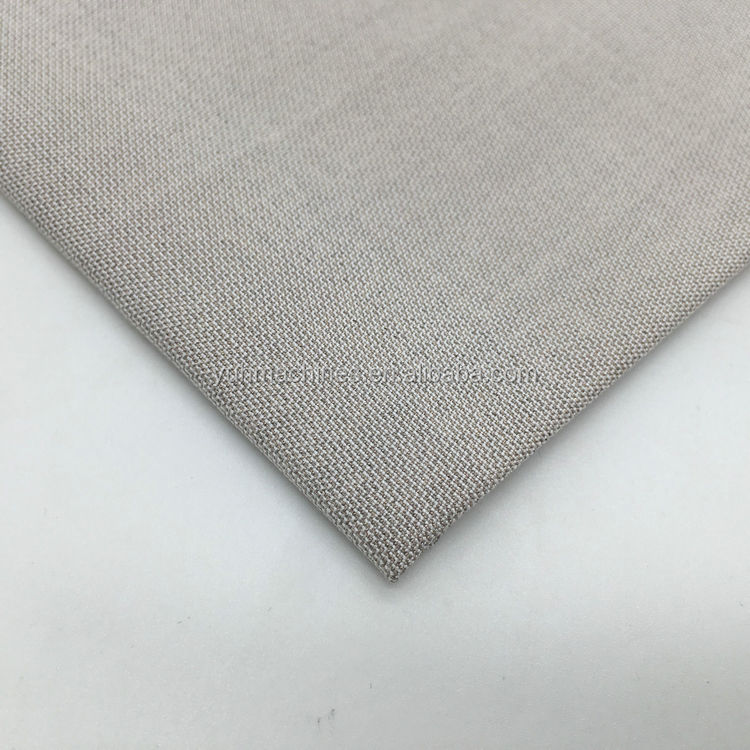 High performance Width 162cm bamboo fiber anti radiation emi shielding fabric YSILVER78