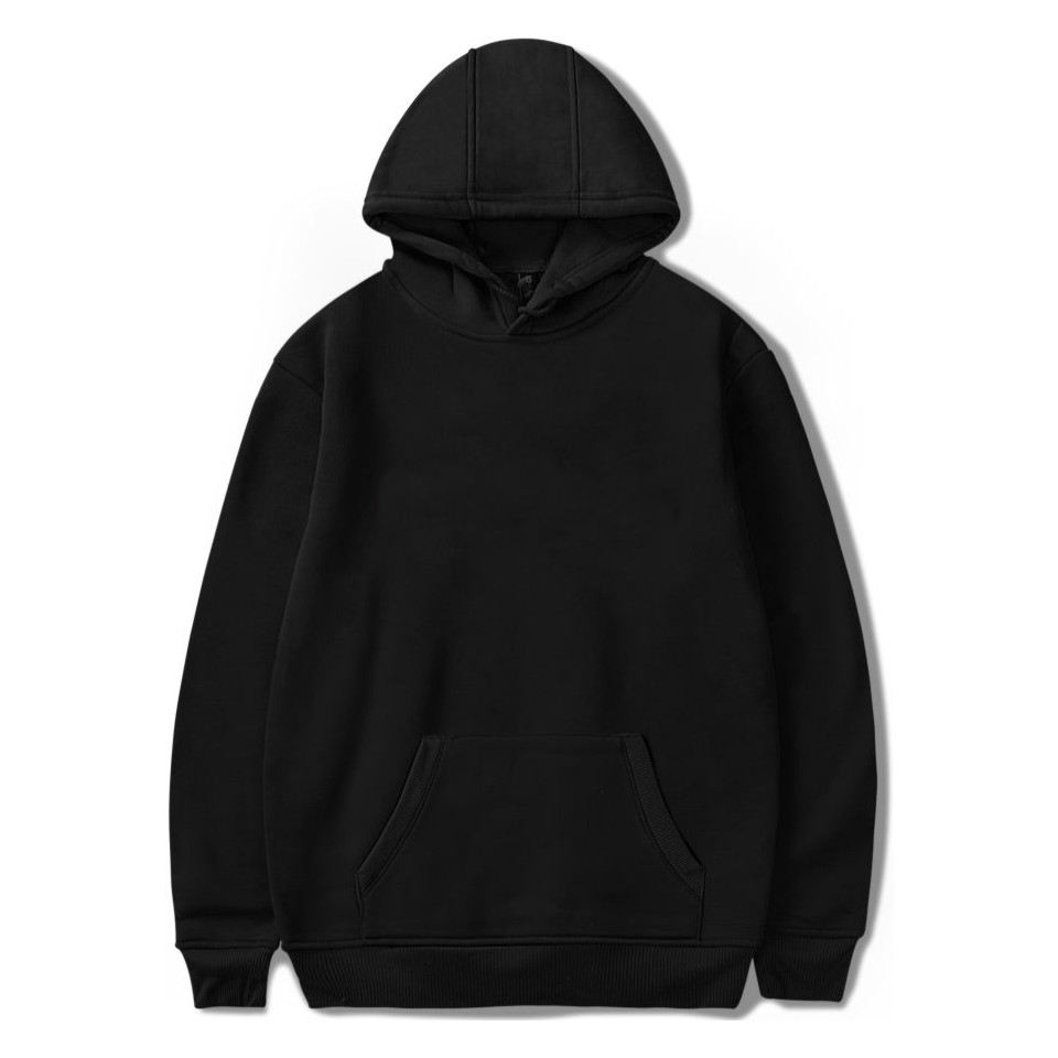 Made In China Heavy Fleece Blank Basic Hoodie Plain Custom Cotton Sweatshirts