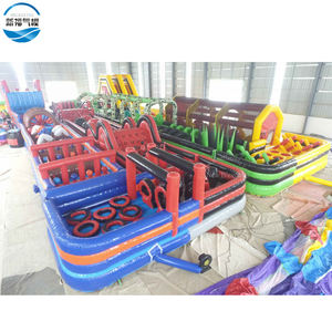 Cheap adult inflatable obstacle course for Challenge Commercial inflatable obstacle races for Sale
