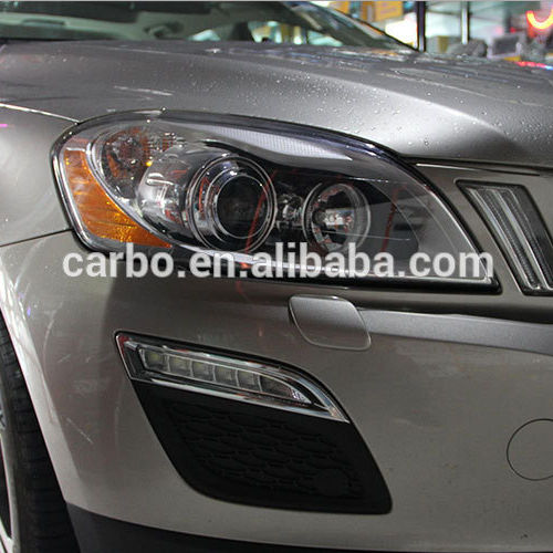 2014 high power LED DRL daytime running lights used Volvo XC60 ,100% waterproof&safty installation 2011-2014