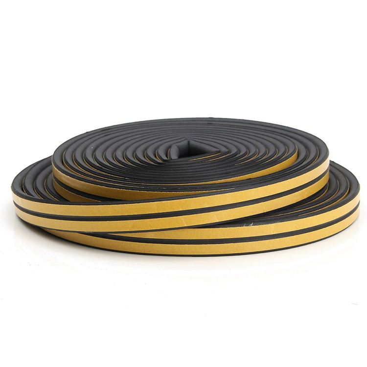 EPDM Closed Cell Foam Rubber Weather Seal Strip