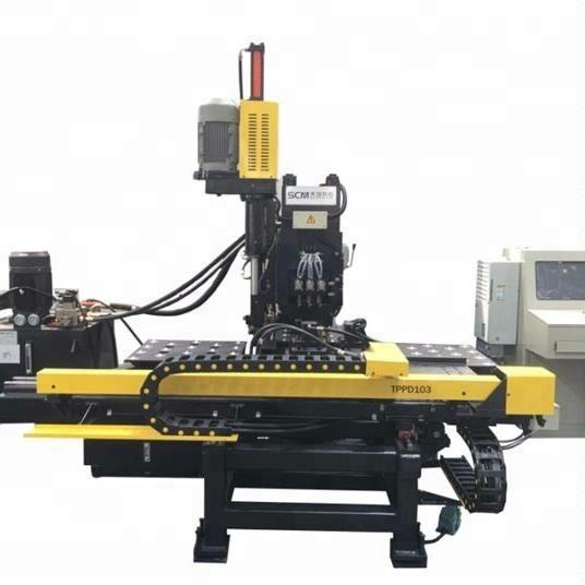 TPPD103/104 CNC Plate Drilling Machine (with punching and marking)