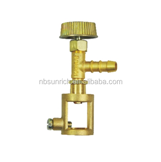 standard brass lpg gas valve for kuwait type
