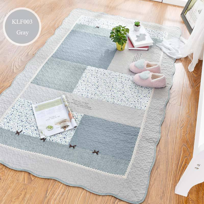 Cotton Anti-slip Eco Friendly Baby Play Mat Crawling Mat, Ground Protection Mat