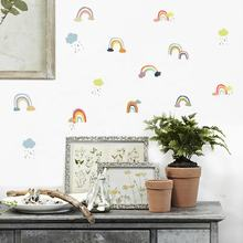 Colorful rainbow  Wall Sticker Living Room Furniture Decorative Decals