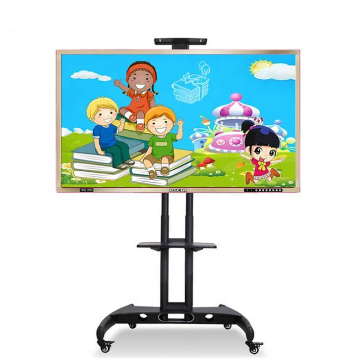 65 Inch Smart Multi-touch Multimedia Teaching Machine All-in-one Computer CE/RoHS/FCC Certified Interactive Whiteboard