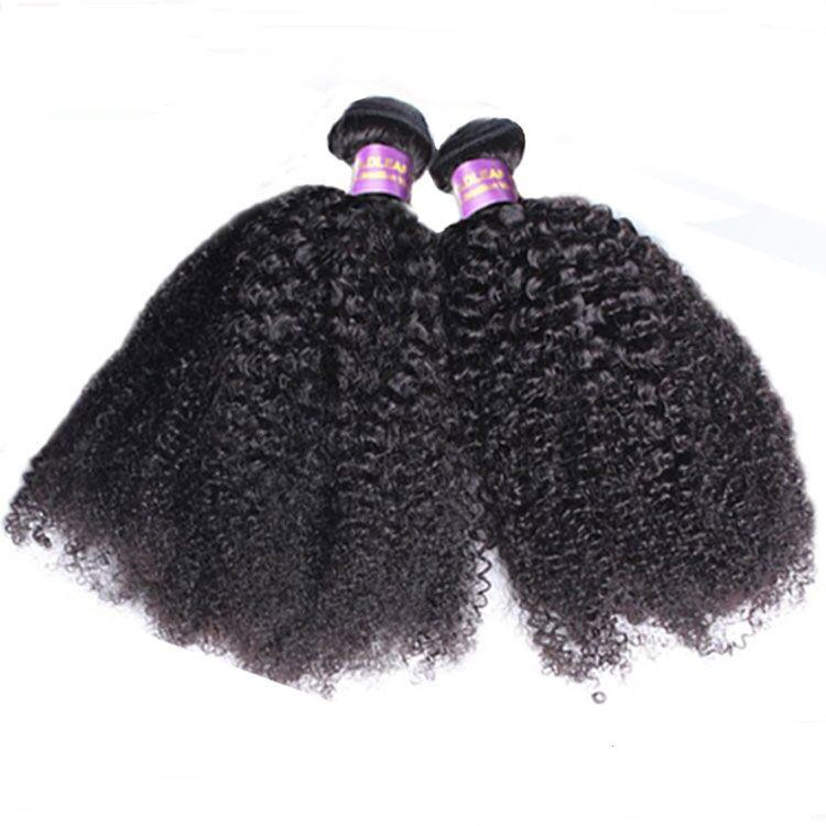 Wholesale natural human hair 100% raw indian hair virgin afro kinky hair extensions