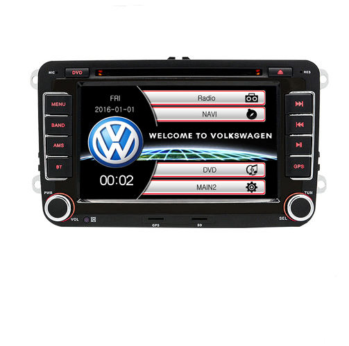 "7 ""auto-DVD-Multimedia-player GPS Navigation auto radio dvd Player 2 din Für VW Polo/passat b6 /SEAT leon 2 Altea Toledo Skoda"