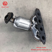 Catalytic converter car parts zotye OEM factory