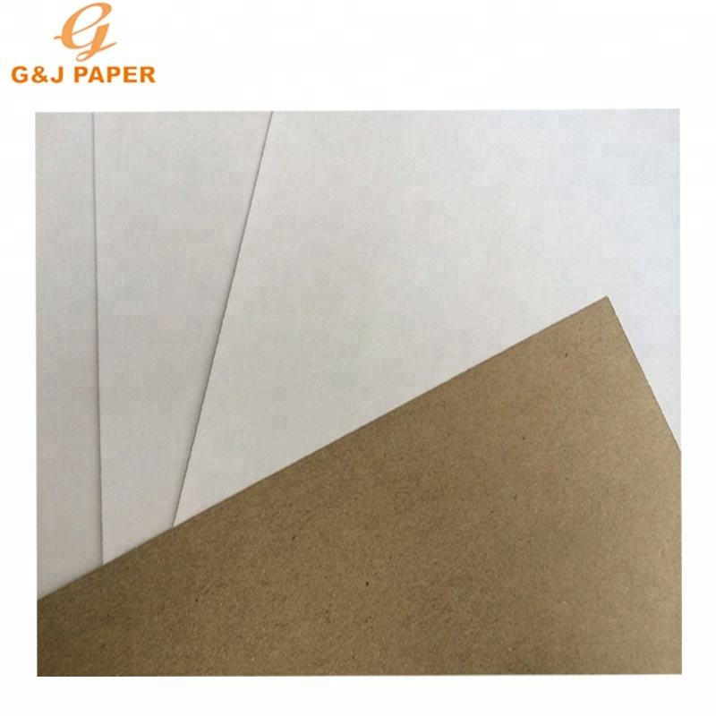 Commercio all'ingrosso Virgin Pulp Rivestito Bianco Top Kraft Liner