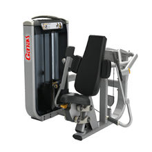 High-end muscle training gym equipment/arm exercise equipment /seated biceps curl machine