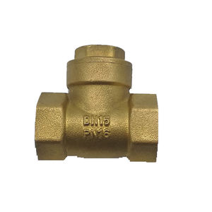 Low price 1/2 3/4 1 1 1/4 1 1/2 1 3/4 2 inch type flapper water meter duo price brass swing check valve