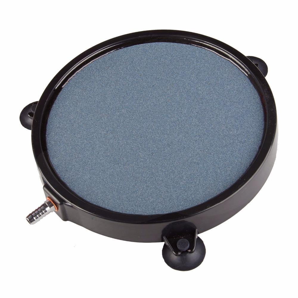 8 Inch Air Stone Disc met Shell en Sucker voor Hydrocultuur Aquarium Tank Pomp