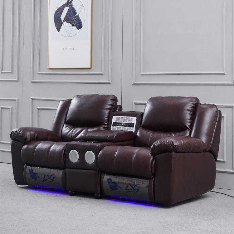 Lazy Boy Modern Home Theater Projector System Recliner Sofa