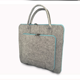 China supplier Fashion wool felt laptop bag custom neoprene felt computer sleeve case with handle