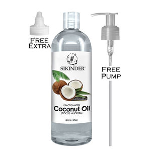 cosmetic organic raw coconut oil for hair private label